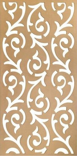 MDF Decorative Grill dxf File Free Download - 3axis co