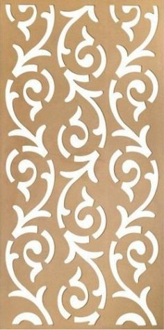 MDF Decorative Grill dxf File