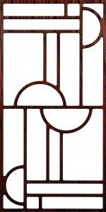Grille Pattern 300-V93 dxf file