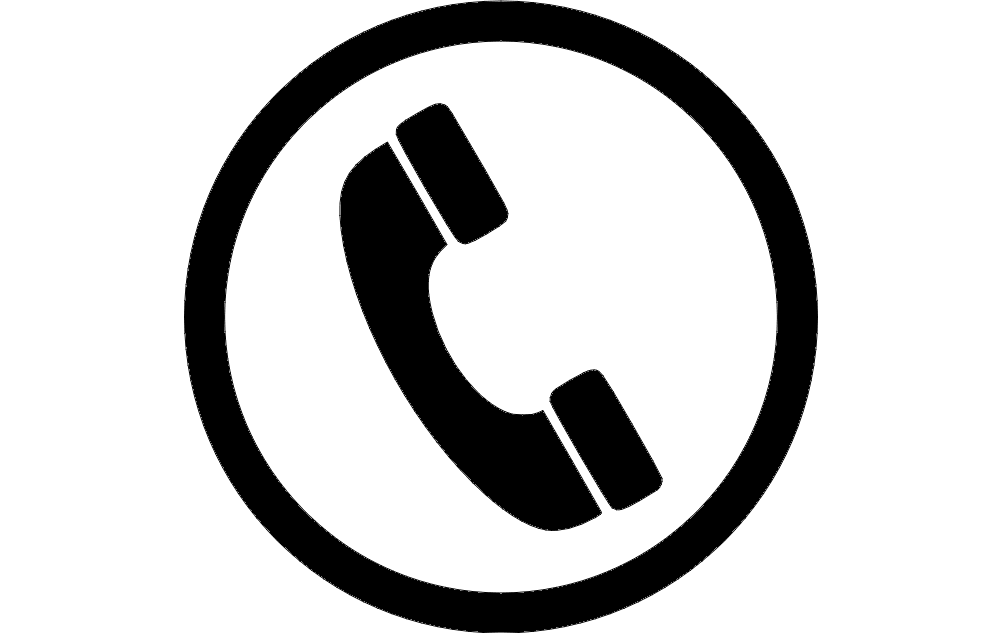 Phone Icon dxf File Free Download - 3axis.co
