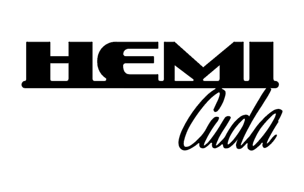 Hemi Cuda Words Dxf File Free Download 3axis Co