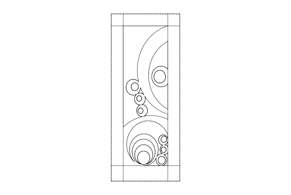 Baloon Door Design Dxf File Free Download 3axis Co