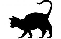 Cat dxf File