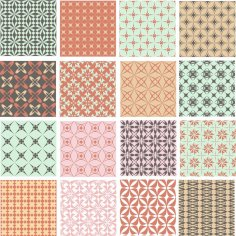 Geometric Patterns Set CDR File