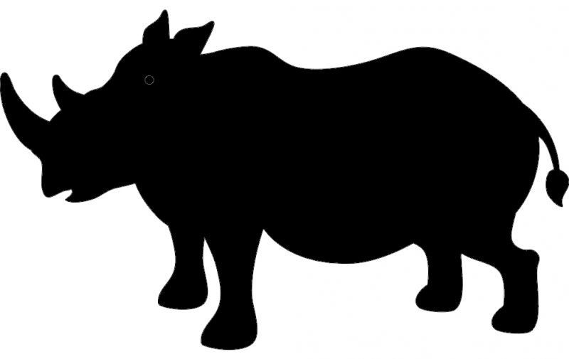 Rhino Silhouette Dxf File Free Download 3axis Co