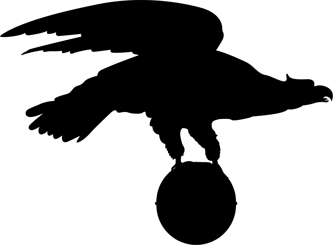 Eagle Silhouette Vector CDR File