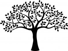 Decor Tree CDR File