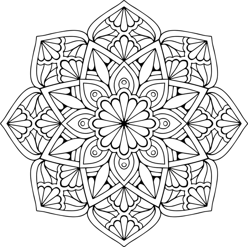 Mandala Floral Free Vector Cdr Download 3axis Co