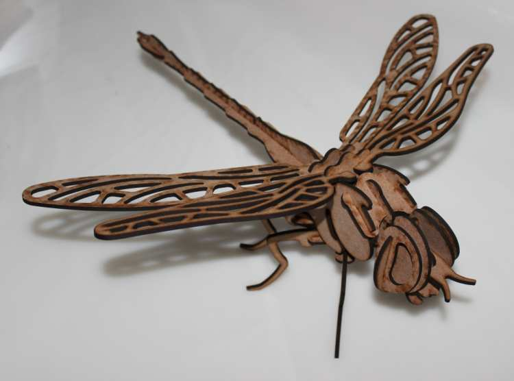 стрекоза Dragonfly Dxf File Free Download 3axis Co