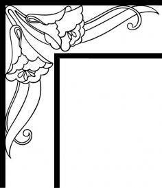 Corner Design 23 EPS File