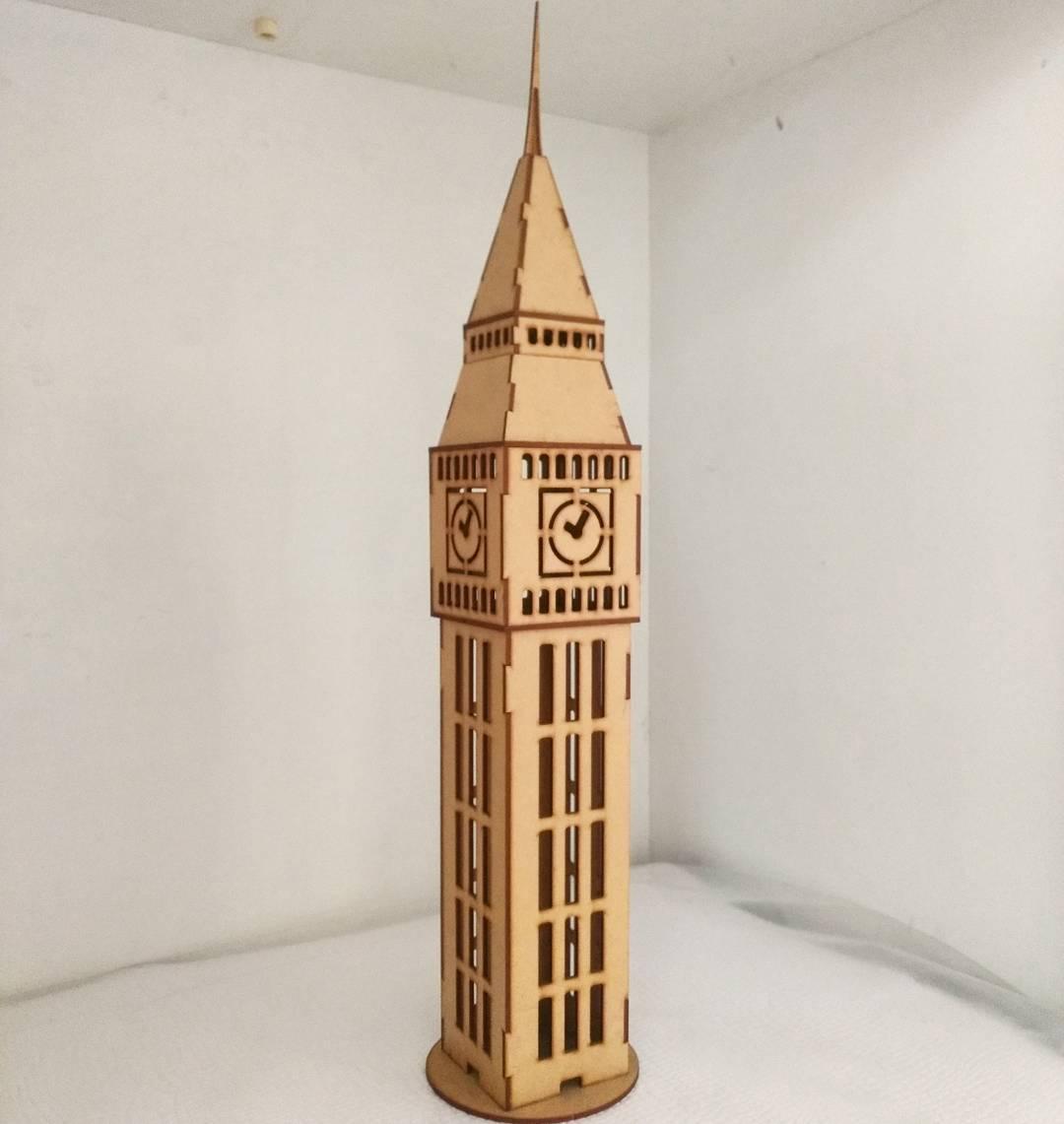 Big Ben Tower CDR File
