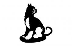 Cat 2 dxf File