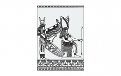 Egypt dxf File