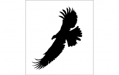 Eagle Logo dxf File