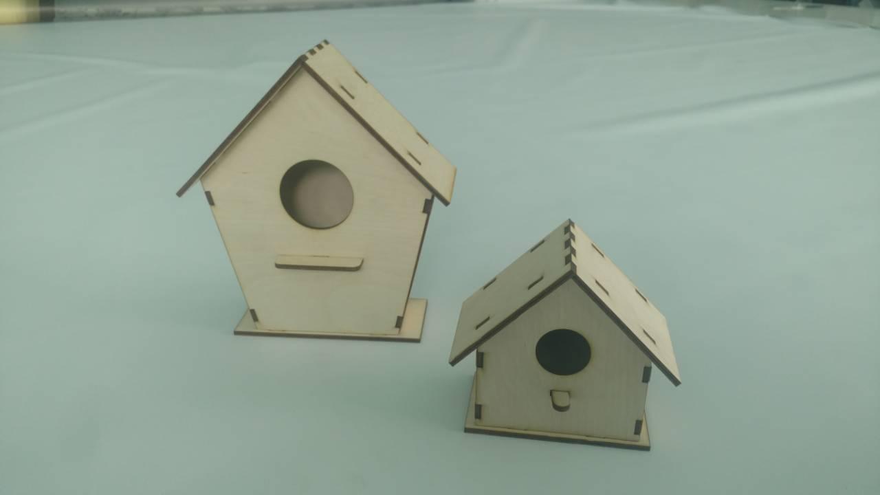 laser cut birdhouse dxf file free download