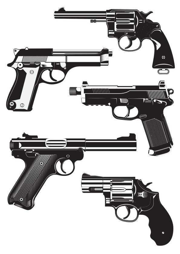guns free vector cdr download 3axis co guns free vector cdr download 3axis co