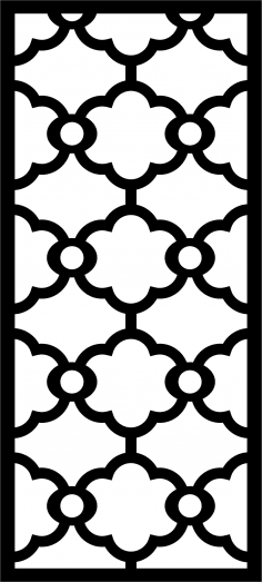 Iron Grill Design Vector CDR File