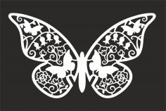Butterfly Vector Art CDR File