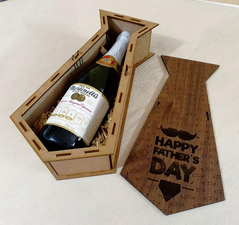 Free You must put your correct and valid email. Laser Cut Engraved Potato Tie Personalised Wooden Wine Gift Box Fathers Day Free Vector Cdr Download 3axis Co SVG, PNG, EPS, DXF File