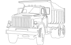 Truck DXF File