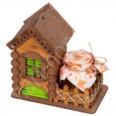 Laser Cut Tea House Tea Holder Box Tea Bag Dispense PDF File