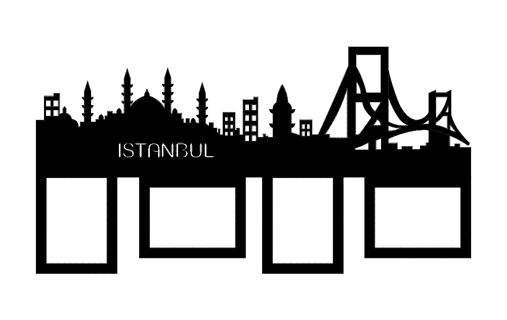 Istambul dxf File