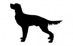 Dog For Hunting dxf File