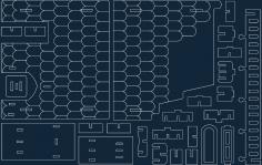 Fantasy Villas 11 dxf file