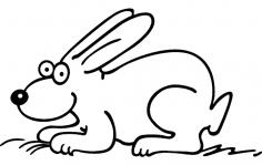 Rabbit 2 dxf File