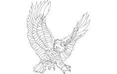 Eagle Attack dxf File