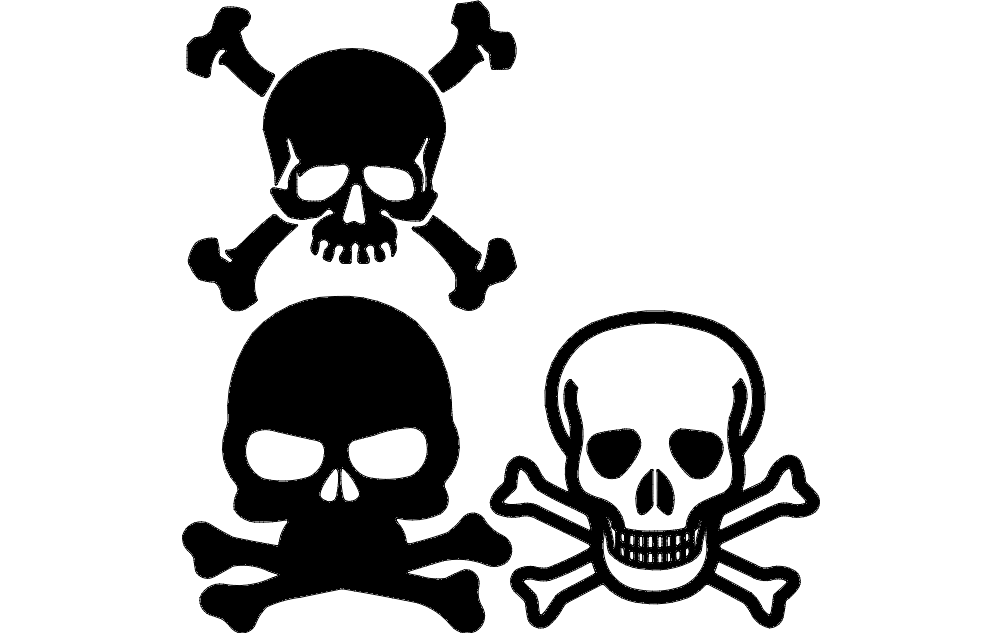 Skull And Crossbone Dxf File Free Download 3axis Co