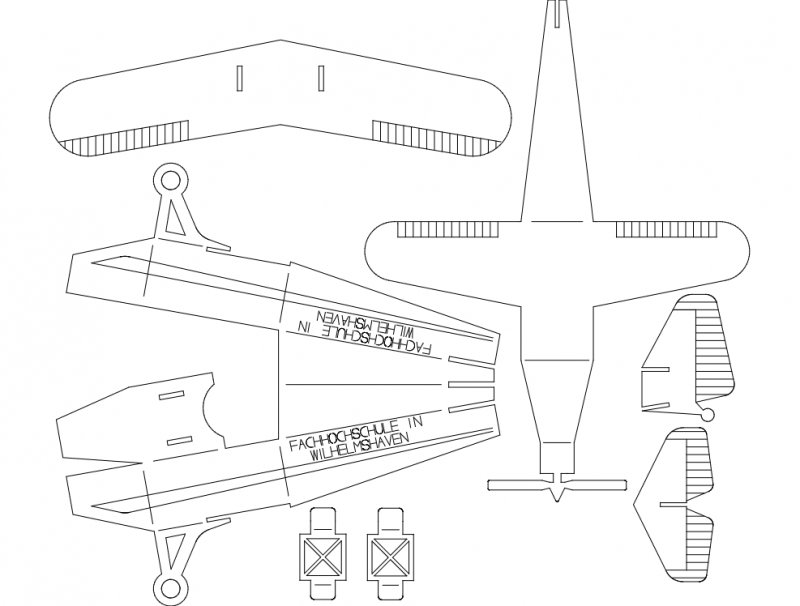 Plane Puzzle 0p5mm Dxf File Free Download 3axis Co