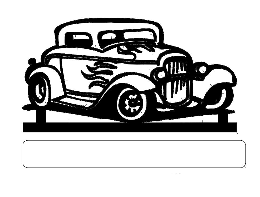 Old Car Dxf File Free Download 3axis Co