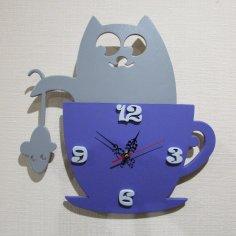 Cat Clock CDR File