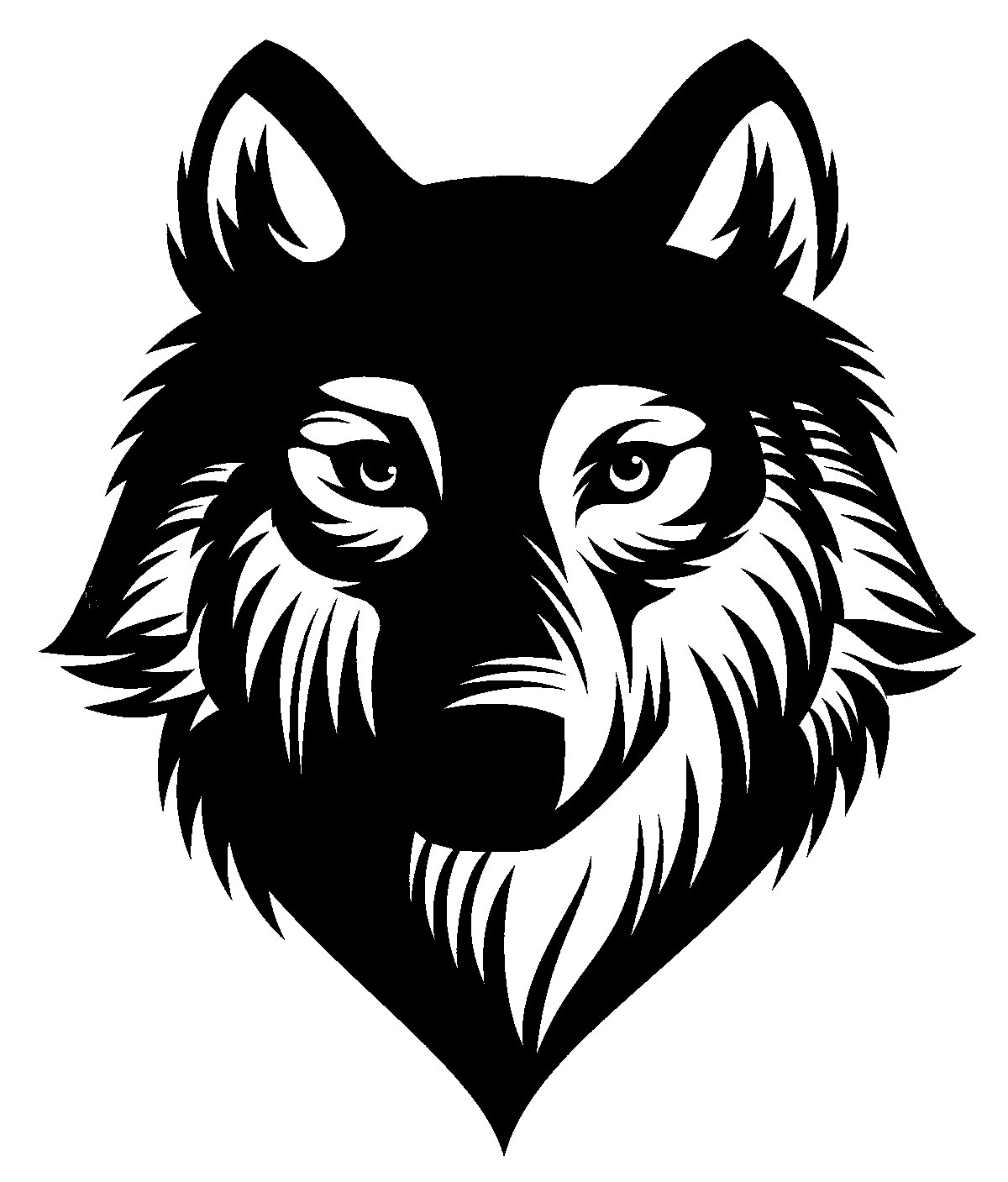 Wolf Stencil PDF File Free Download - 3axis co
