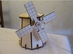 Windmill dxf File