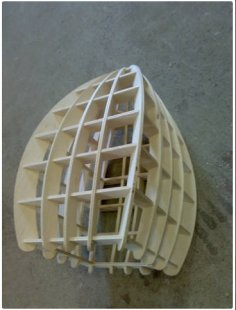 Square Lamp dxf File