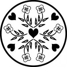 Floral Design 11 EPS File