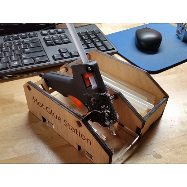 Glue Gun Holder CDR File