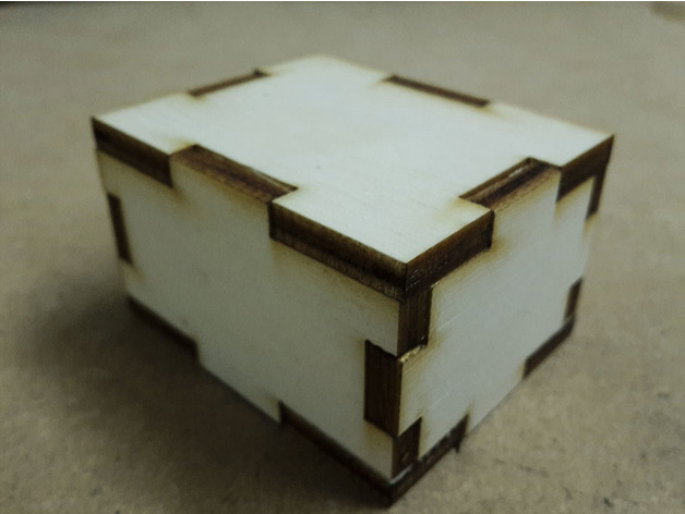 Simple parametric box generator for laser cut DXF File ...
