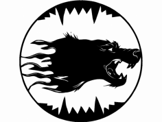 волк dxf File