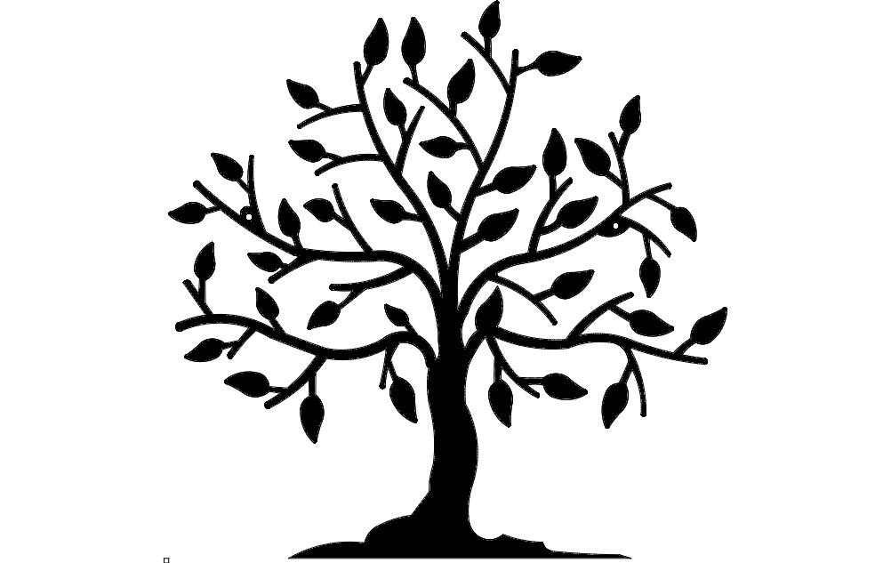 Tree dxf File Free Download - 3axis.co