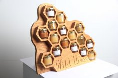 Wild Hives Honey Display CDR File