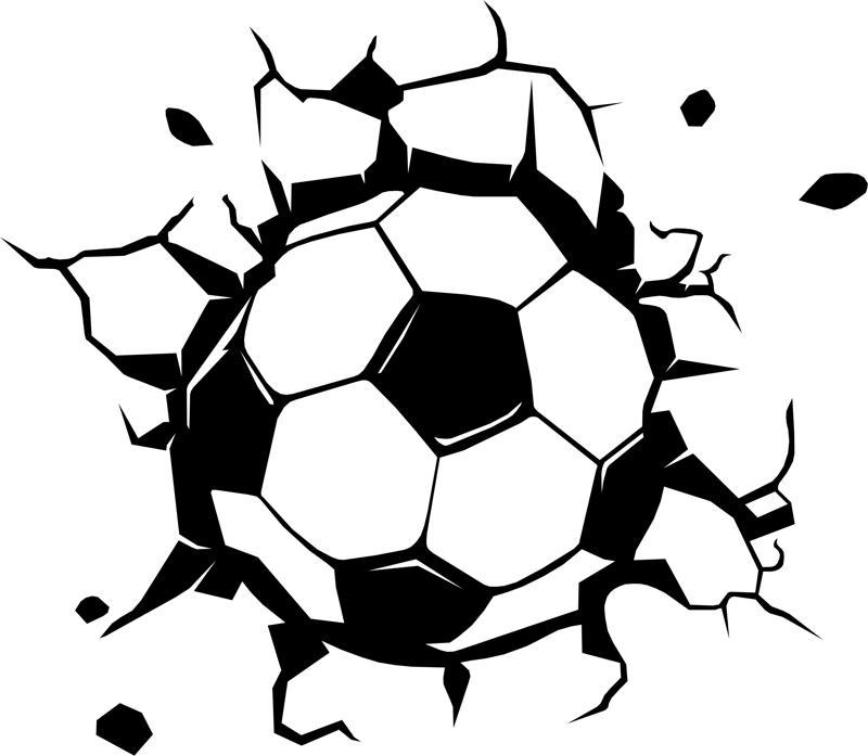Soccer Ball Vector CDR File
