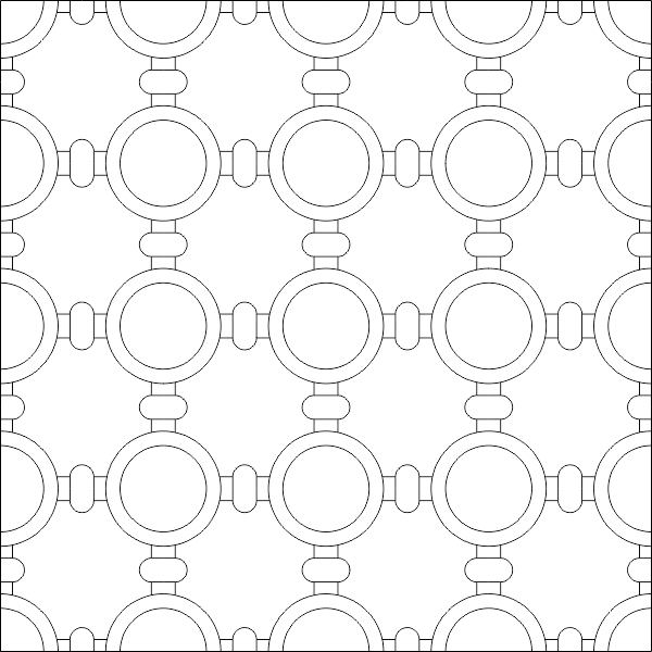 Simple Islamic Pattern DWG File Free Download - 3axis co