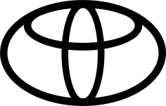 Toyota Logo Vector CDR File