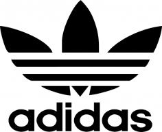 Adidas Logo Vector CDR File