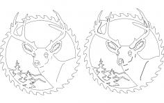 Circular Sawblades dxf File