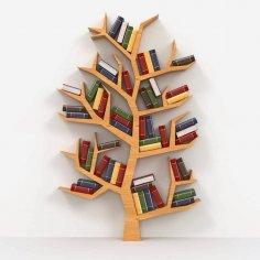 kitaplık (ağaç Modeli) dxf File