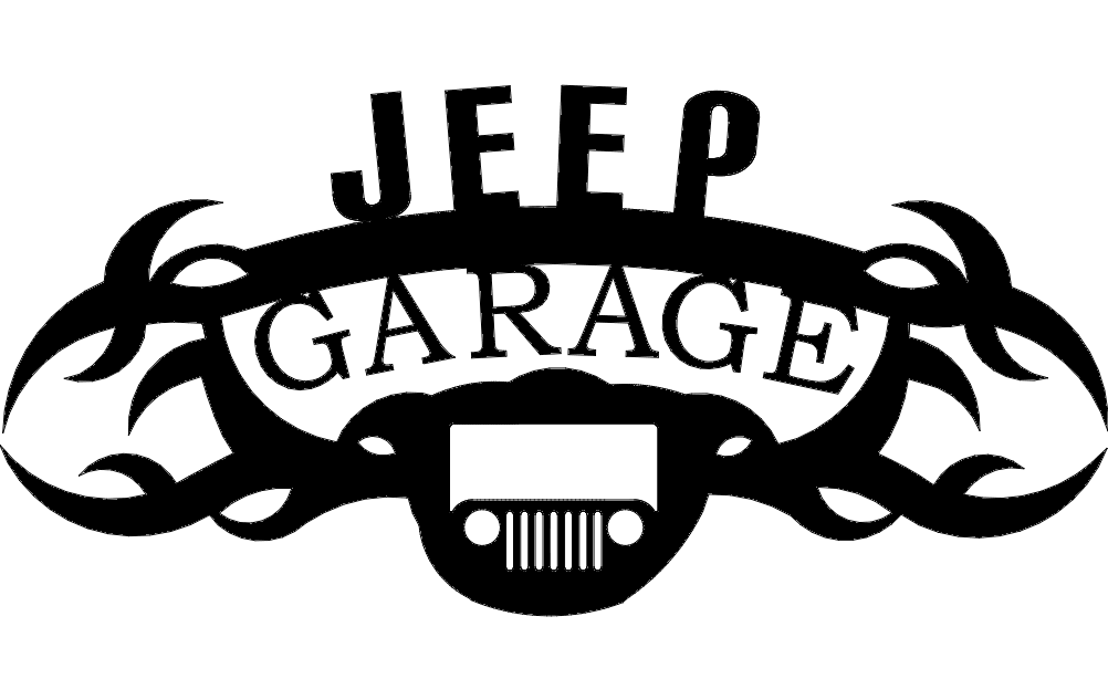 Jeep Garage Dxf File Free Download 3axis Co